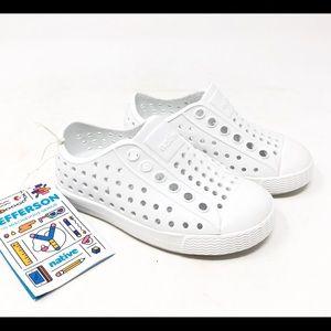 Native Shoes Jefferson White Unisex Shoes C5